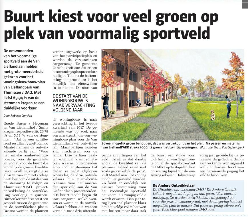 Stadsblad Utrecht week 23 (08-06)