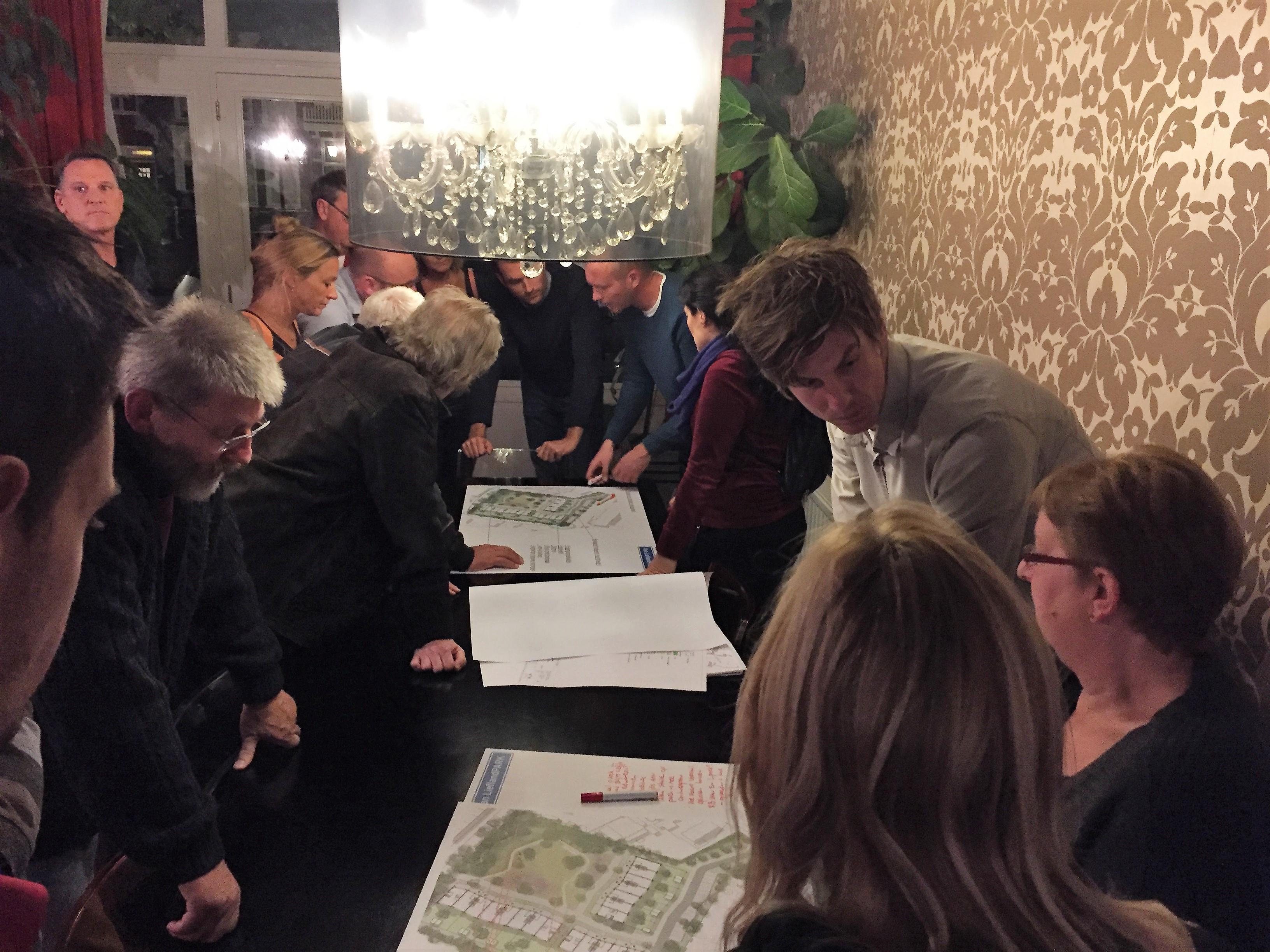 Geslaagde informatiebijeenkomst voor omwonenden Van LieflandPARK